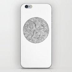 Warm Waves iPhone & iPod Skin