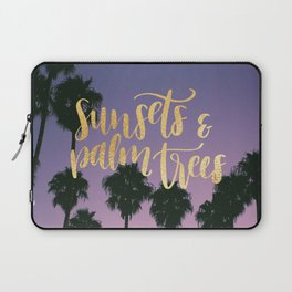 Sunsets & Palmtrees Laptop Sleeve
