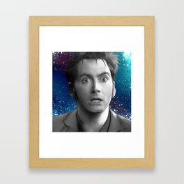 10th Doctor - Doctor Who Framed Art Print