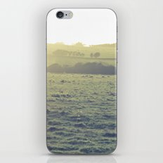 Light in the fields iPhone & iPod Skin