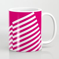 bands Mugs featuring Red Bands R. by blacknote