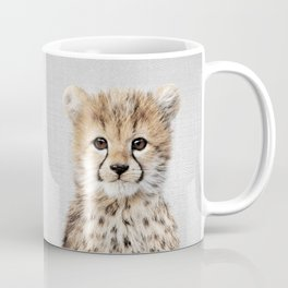 Baby Cheetah - Colorful Coffee Mug