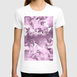 Watercolor Autumn Leaves 4 T-shirt
