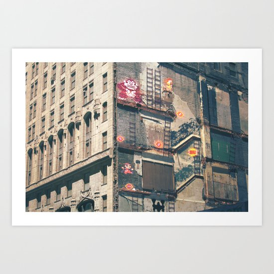 Building Kong Art Print
