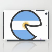 argentina iPad Cases featuring Argentina Smile by onejyoo