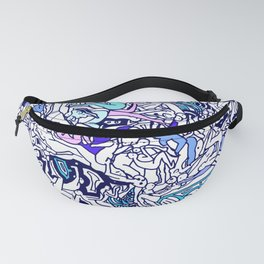 Kamasutra LOVE - Ultraviolet Purple Blue Fanny Pack