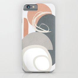 Abstract Minimal Geometry 17 iPhone Case