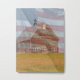 Barn Freedom Metal Print