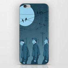 Birds and Men iPhone Skin