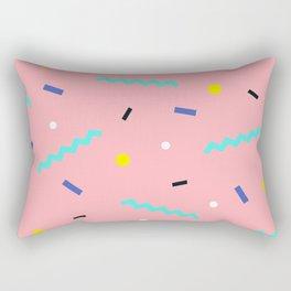 Memphis pattern 54 Rectangular Pillow