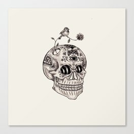 Boney Canvas Print