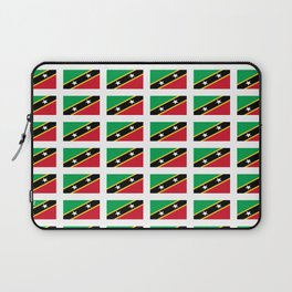 Flag of Saint Kitts and Nevis-Saint Christophe,Saint Kitts,Nevis,Kittian,Nevisian Laptop Sleeve