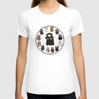 thorin T-shirts featuring Dwarpacas(Thorin) by Lady Cibia