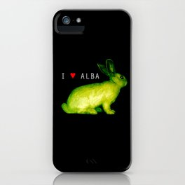 I LOVE ALBA iPhone Case