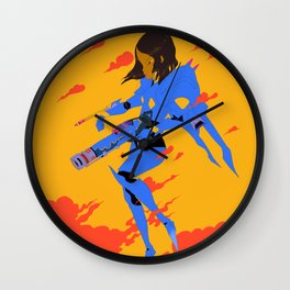Pharah Wall Clock