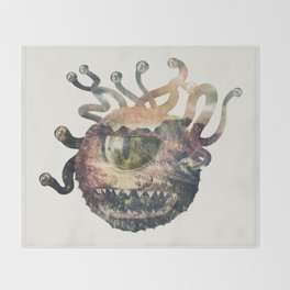 Beholder Throw Blanket