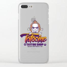 Tatooine Tattoo Shop Clear iPhone Case