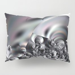 Complexity under smooth simplicity - Abstract play with focus Pillow Sham