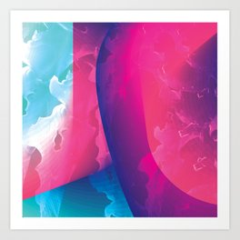 Colors in the sky Art Print