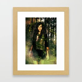 Goddess of the Forest Framed Art Print