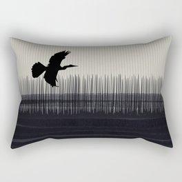 Anhinga Florida Everglades Rectangular Pillow