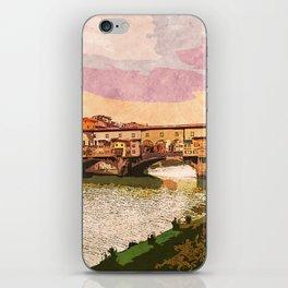 Florence, Ponte Vecchio iPhone Skin