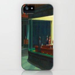 Edward Hopper's Nighthawks iPhone Case