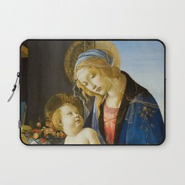 The Virgin and Child by Sandro Botticelli Laptop Sleeve