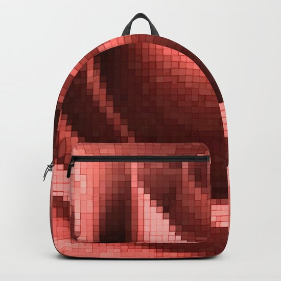 Rosy mosaic Backpack