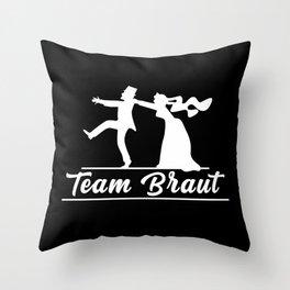 Bachelorette party masks, Bachelorette, bride Throw Pillow