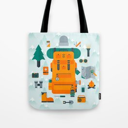 Adventuring Tote Bag