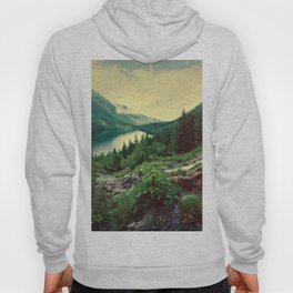 Lake In Mountains Hoody