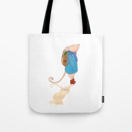 The travelling mouse Tote Bag