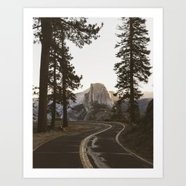 Glacier Point   Yosemite, California   John Hill Photography Art Print