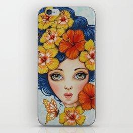 Flora by Serena Bridgeman iPhone Skin