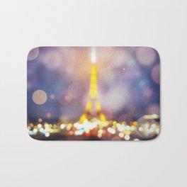 Abstract Eiffel Tower Bath Mat