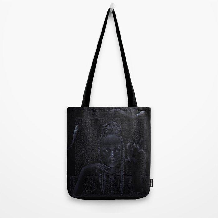 DARK TEMPLE - Du noir naît la lumière Tote Bag