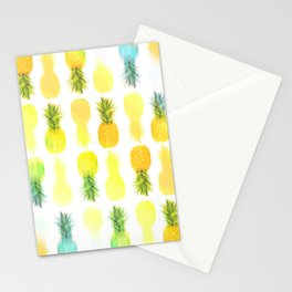 Pineapple Glow Stationery Cards