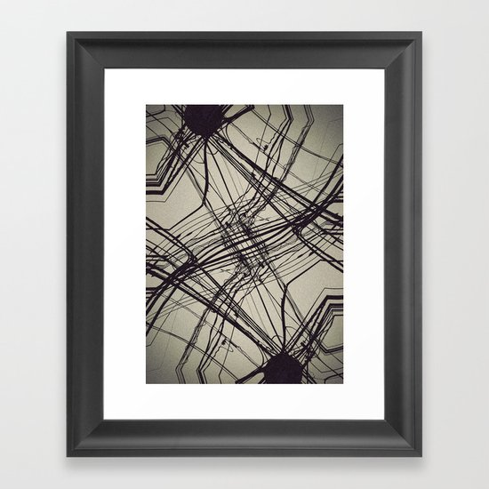 unknow what i know Framed Art Print