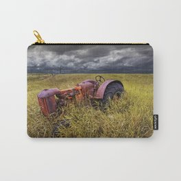 Abandoned Farm Tractor on the Prairie Carry-All Pouch