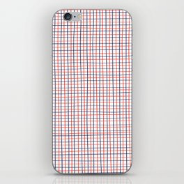 French Grid iPhone Skin