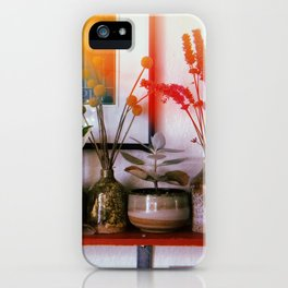 Four Pots and Poppy iPhone Case