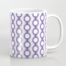 Retro-Delight - Conjoined Circles - Lavender Coffee Mug