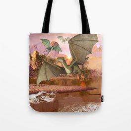 Wyvern Tote Bag