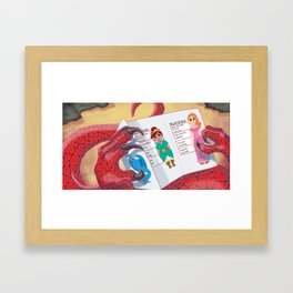 Calorie Counter Framed Art Print