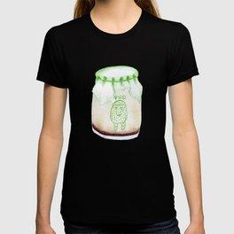 Bear Pudding, Japanese conbini sweets illustration T-shirt