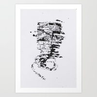 howl Art Prints featuring 'Howl' by Evelyn W
