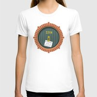 221b T-shirts featuring 221B Bag End by sirwatson
