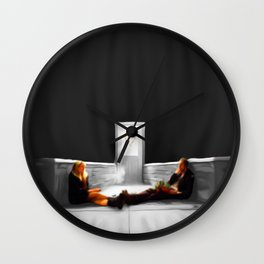 Blue Valentine 4  Wall Clock