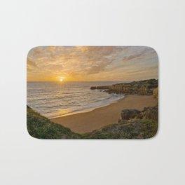 Algarve sunset Bath Mat